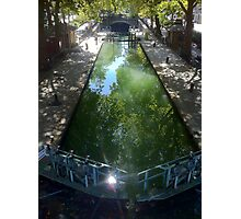 canal st martin, Paris 10° Photographic Print