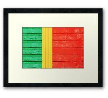 Portuguese flag Framed Print