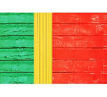 Portuguese flag Photographic Print