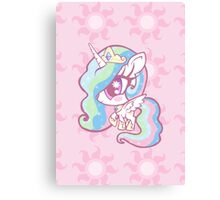 Weeny My Little Pony- Princess Celestia Canvas Print