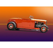 1932 Ford Classic Hot Rod Roadster Photographic Print