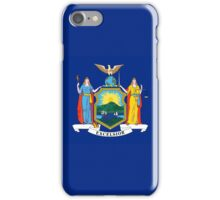 Smartphone Case - State Flag of New York - Horizontal iPhone Case/Skin