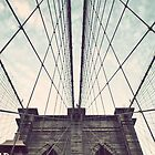 iPhone Cover: Brooklyn Bridge by Randy  Le'Moine