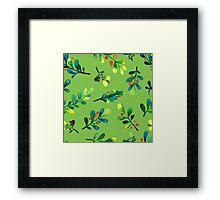 - Branch pattern - Framed Print
