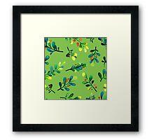 - Branch pattern - Framed Print