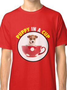 Puppy In A Cup Classic T-Shirt