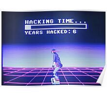 HACKING TIME... YEARS HACKED: 6 Poster