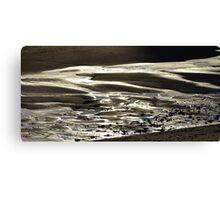 Folding Sand...... Canvas Print