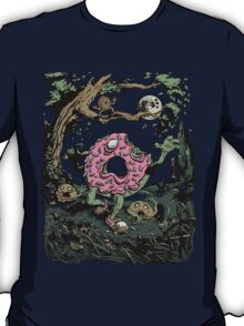 Night of the Undead Doughnuts T-Shirt