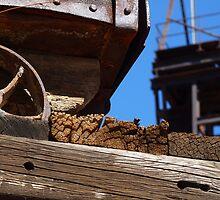 Mining Cart Trestle by V1mage