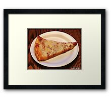 Photography - Pizza - Color Framed Print