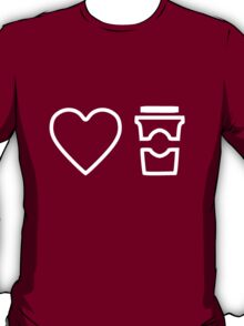 Heart. Coffee T-Shirt
