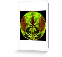 Neon Daze Greeting Card