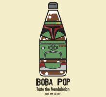 Boba Pop - Taste the Mandalorian T-Shirt