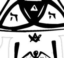 Masonic Knot of Light Sticker