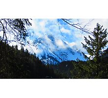 Austerities of Austrian Alps Photographic Print