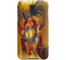 GOLDEN DANCING DRAGON Samsung Galaxy Case/Skin