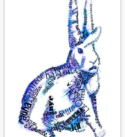 paz Sticker