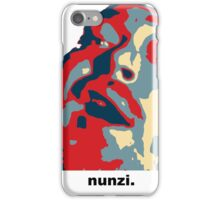 Nunzi On The Roll iPhone Case/Skin