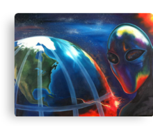 Alien Nation Canvas Print