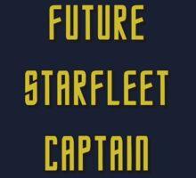 Future Starfleet Captain Kids Clothes