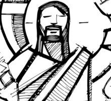 Jesus Eucharist Shared Bread Sticker