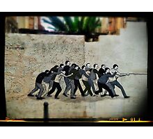 One for all and all for one, at least till the going gets tough... Photographic Print