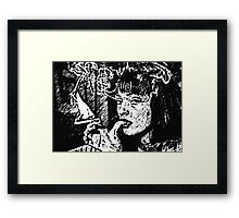 So Pulpy Framed Print