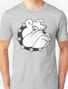 English Bulldog Cartoon Unisex T-Shirt