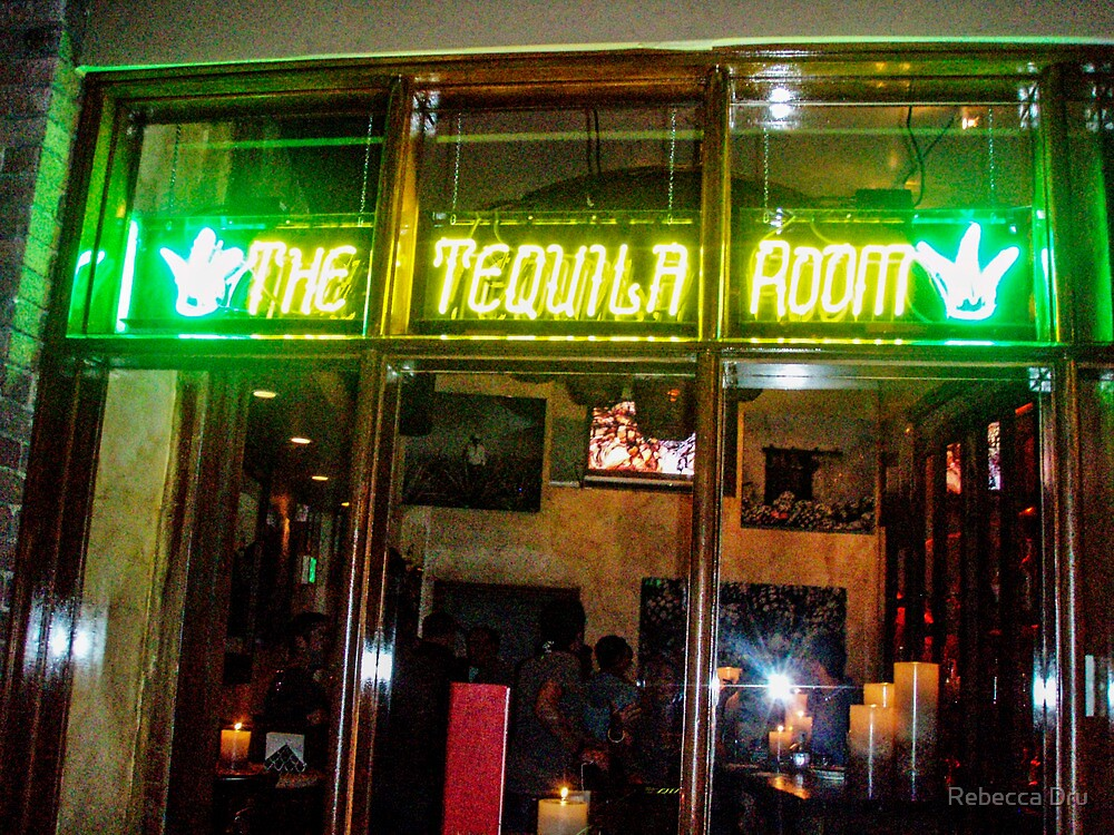 THE TEQUILA ROOM by Rebecca Dru