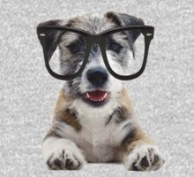Jack Russel Terrier with Glasses Kids Clothes