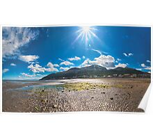 Newcastle, Co Down Panorama Poster