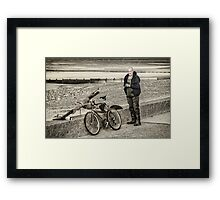 Fleetwood Fisherman Framed Print