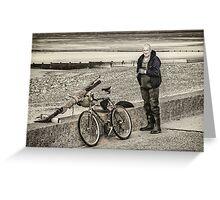 Fleetwood Fisherman Greeting Card
