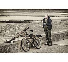 Fleetwood Fisherman Photographic Print