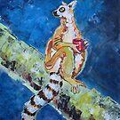 Coffee Lemur by Ellen Marcus