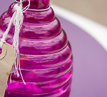 purple glass by Anne Scantlebury