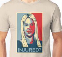 Joumana Kayrouz - Injured? Unisex T-Shirt