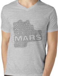 What Would Veronica Mars Do ? Mens V-Neck T-Shirt