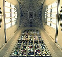 Bath Abbey Ceiling by Chris Millar