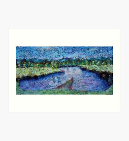 The River Art Print