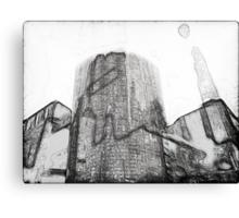 Facades #3 Canvas Print