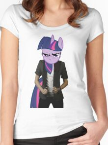 Twilight woman Women's Fitted Scoop T-Shirt