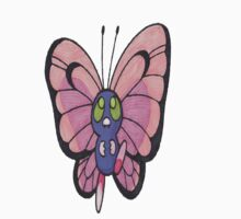 A Shiny Butterfree by lindypie