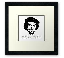 "Che ""Make it Fall"" Framed Print"