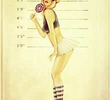 Pin Up Mugshot by mikekoubou