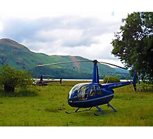 Copters - Derwent Water Lake District Photographic Print