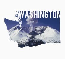 Washington - Mount St. Helens Baby Tee