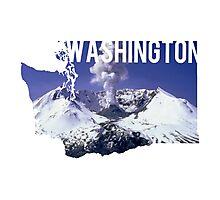 Washington - Mount St. Helens Photographic Print