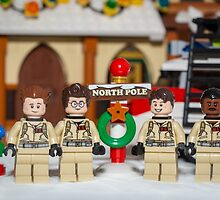 Ghostbuster at the North Pole by garykaz